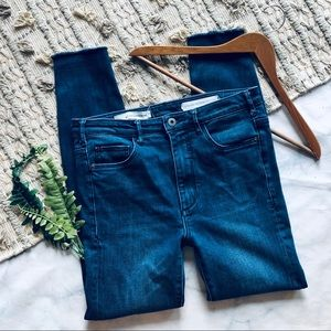 Anthropologie Pilcro Ultra High Rise Skinny Jeans
